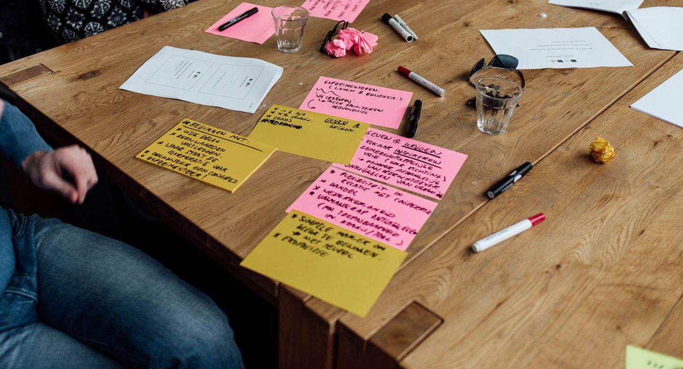 Aantekeningen en brainstormen